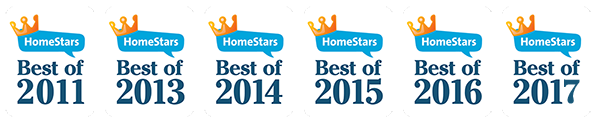 Best of HomeStars badges - mobile